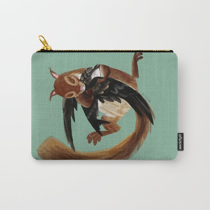 Squirrel hugs  (GREFA) Carry-All Pouch