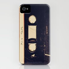 mix tape iPhone (4, 4s) Slim Case