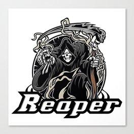 grim reaper  Canvas Print