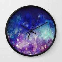 Sparkle Nights Wall Clock