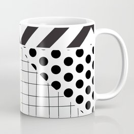 minimal abstract green Coffee Mug
