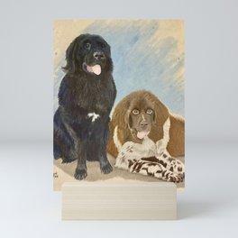 Samson and Delilah Mini Art Print
