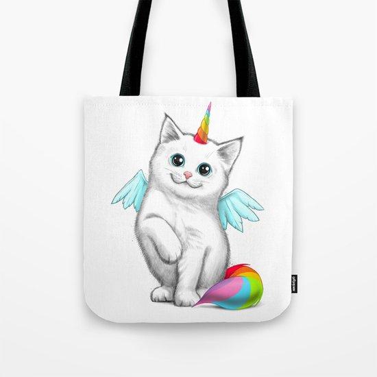 Cat unicorn Tote Bag
