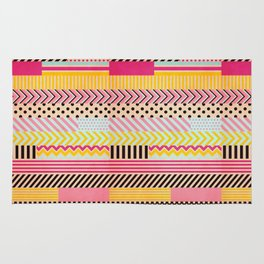 Decorative Tape II Rug