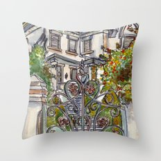 House on Vasco Da Gama Throw Pillow