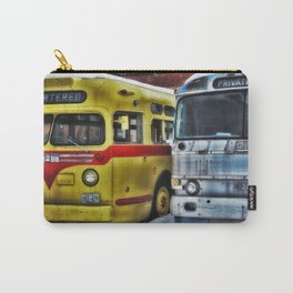 Old Buses 3 Carry-All Pouch