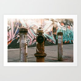 The Brooklyn Touch Art Print