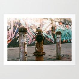 The Brooklyn Touch Art Print