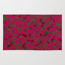Rhubarb Spores Rug