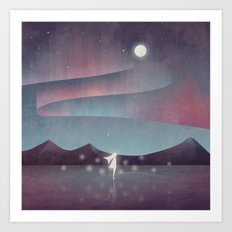 Descendant Of The Northern Lights Art Print