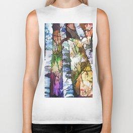 Aspen Trees Biker Tank