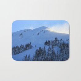 Ghosts In The Snow Bath Mat