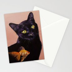 Gold Fish Stationery Cards