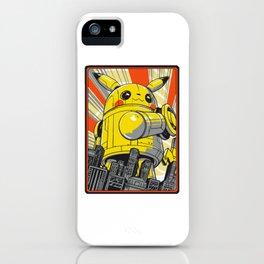 MEKA PIKA iPhone Case