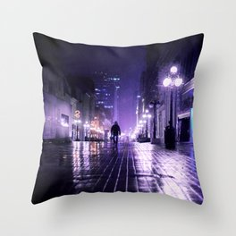 there is no more time Throw Pillow