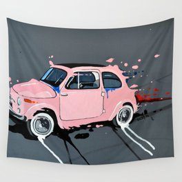 The pink lady Wall Tapestry