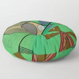 Crazy Golf Abstract Putting Floor Pillow
