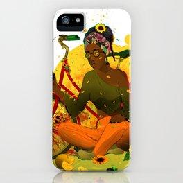 Essentia.Yellow iPhone Case