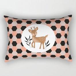 Petite biche Rectangular Pillow