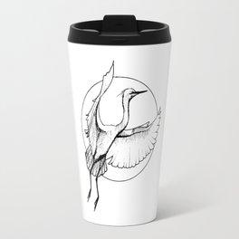 """Crane, """"The Release"""" Travel Mug"""
