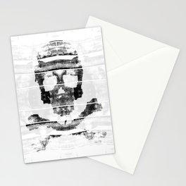 Bitter Bone Skull Stationery Cards