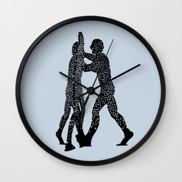 Molecule Man Wall Clock