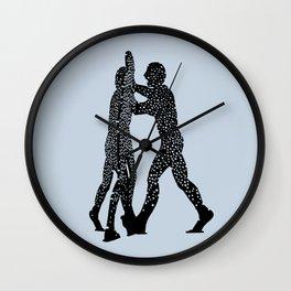 Molecule Man Wall Clock