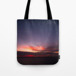 Malibu Sunrise B3 - California Ocean Sunrise Tote Bag