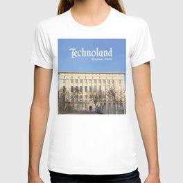 Technoland, Berlin, the Techno Meca Club! T-shirt