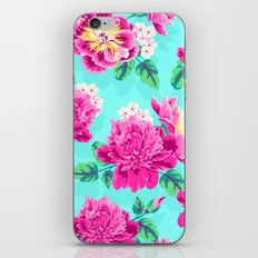 Bright Flowers Pretty Peonies iPhone & iPod Skin
