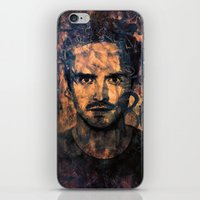 jesse pinkman iPhone & iPod Skins featuring Jesse Pinkman by Sirenphotos