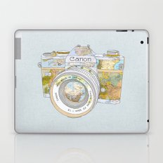 TRAVEL CAN0N Laptop & iPad Skin