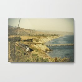 Along the coast Metal Print