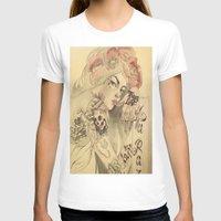 mucha T-shirts featuring mucha cholo by Paolo Zorzenon