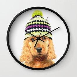 PUPPY PAPIKO Wall Clock
