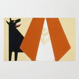 Vintage poster - Little Red Riding Hood Rug