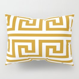 Gold Greek Key Pillow Sham