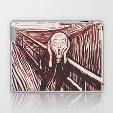 The Scream's Haze (red) Laptop & iPad Skin