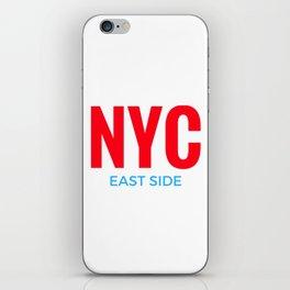 NYC East Side iPhone Skin