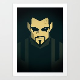 Jensen / Deus Ex: Human Revolution Art Print