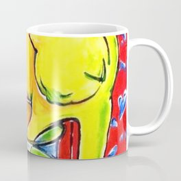 Henri Matisse - Le Chat Aux Poissons Rouges 1914, (The Cat With Red Fishes) Artwork Coffee Mug