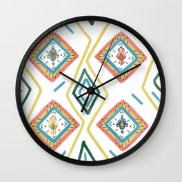 Persian Style 3 Wall Clock