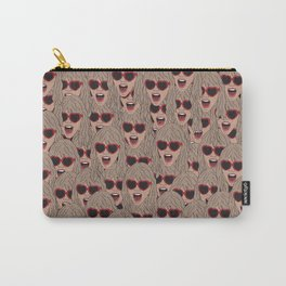 TaylorSwift Faces Carry-All Pouch