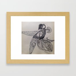 pen me Framed Art Print