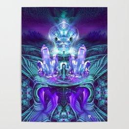 Expanding horizons - Visionary - Fractal - Manafold Art Poster