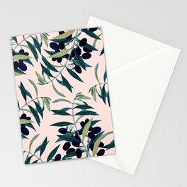 Olive Branch Pattern #society6 #decor #buyart Stationery Cards