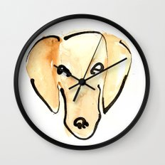 Daschshund Wall Clock