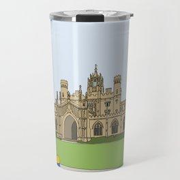 Cambridge struggles: St Johns Travel Mug