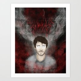 Will Graham - Tightrope in the Darkness Art Print