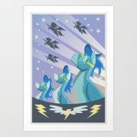 Wonderbolts Poster Art Print